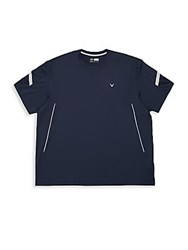 Callaway Big And Tall Crewneck T Shirt Caviar