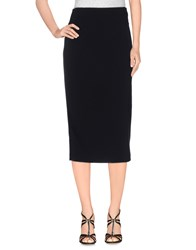 Gotha Skirts 3 4 Length Skirts Women Black