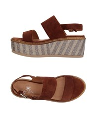 Janet Sport Sandals Cocoa