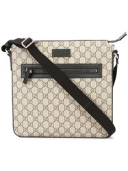 Gucci Logo Pattern Messenger Bag Nude Neutrals