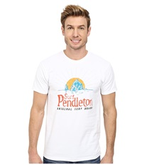 Pendleton Surf Graphic Tee White Men's T Shirt