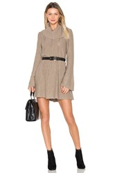 Bcbgmaxazria Catlin Dress Brown