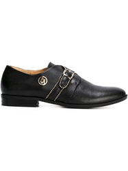Armani Jeans Monk Strap Shoes Black