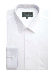 Racing Green Jenson End On End Formal Shirt White
