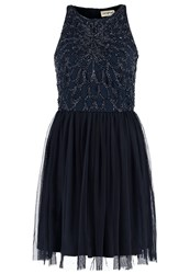 Lace And Beads Ablienne Cocktail Dress Party Dress Navy Dark Blue