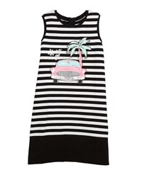 Kate Spade Striped Road Trip Sleeveless Dress Size 7 14 Multi