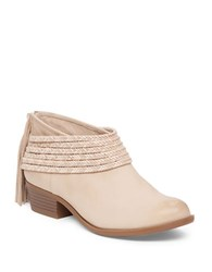 Bcbgeneration Craftee Goat Leather Booties Sand
