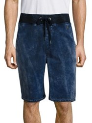 True Religion Decayed Terry Dyed Finish Shorts Ace Tie Dye