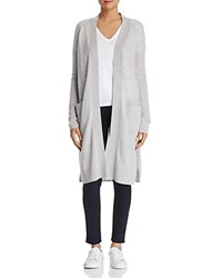 Bloomingdale's C By Cashmere Duster Cardigan 100 Exclusive Light Gray