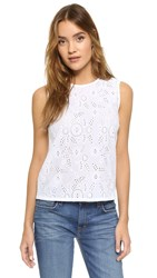 Ag Jeans Teagan Shell Top True White