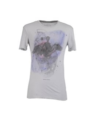 Brian Dales Short Sleeve T Shirts Light Grey
