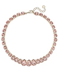 Charter Club Crystal Collar Necklace 16 2 Extender Created For Macy's Rose Peach