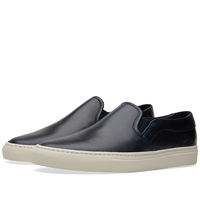 Common Projects Slip On Leather Navy