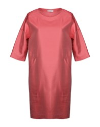 Rosso35 Short Dresses Coral