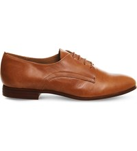 Office Reach Lace Up Leather Brogues Tan Leather