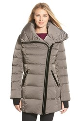 Women's Vera Wang 'Blaire' Asymmetrical Quilted Coat