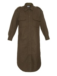 Nlst Officers Wool Flannel Dress