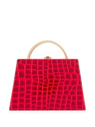 Rocio Constance Crocodile Effect Tote Bag 60