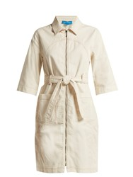 Mih Jeans Callow Corduroy Dress Ivory