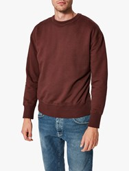 Selected Homme Max Crew Neck Sweater Bitter Chocolate
