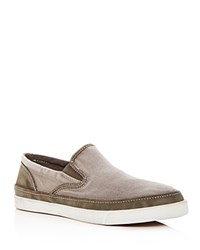 John Varvatos Star Usa Men's Distressed Slip On Sneakers Ash