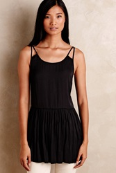 La Fee Verte Skirted Layering Tank Black
