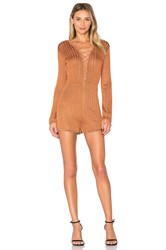 Nbd Rae Romper Orange