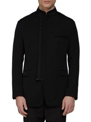 Lanvin Wool Blend Zip Jacket