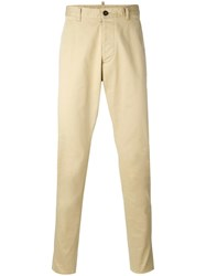 Dsquared2 Slim Fit Chinos Nude Neutrals