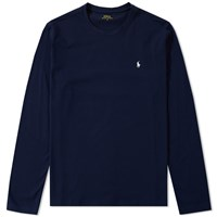 Polo Ralph Lauren Long Sleeve Crew Neck Tee Blue