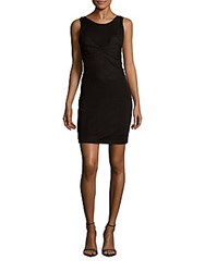 Sandro Ruppa Boatneck Sheath Dress Black