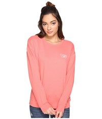 Vans Full Patch Crew Georgia Peach Women's Clothing Pink