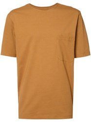 Christophe Lemaire Chest Pocket T Shirt Brown