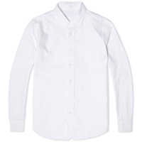 Head Porter Plus Simplicity Oxford Shirt White