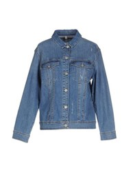 Pedro Del Hierro Denim Denim Outerwear Women Blue