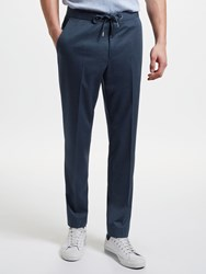 John Lewis Kin By Athleisure Jersey Suit Trousers Navy