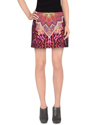 Just Cavalli Skirts Mini Skirts Women Blue
