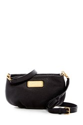 Marc By Marc Jacobs Percy Leather Crossbody Black