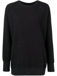 Lala Berlin Round Neck Sweatshirt Black