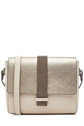 Brunello Cucinelli Leather Shoulder Bag
