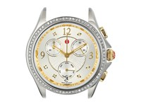 Michele Belmore Chronograph 18Mm Two Tone Diamond Watch Gold Silver Watches
