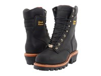 Chippewa 9 Waterproof Insulated Super Logger Black Oiled Men's Work Boots