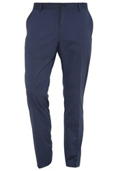 Selected Homme Shdnewone Mylologan Suit Trousers Medium Blue Melange Mottled Blue
