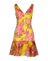 Leitmotiv Short Dresses Yellow
