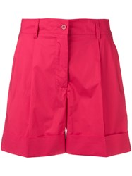 P.A.R.O.S.H. Side Stripe Shorts Red