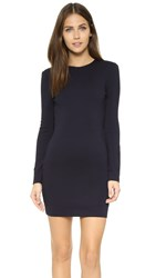 Bec And Bridge Long Sleeve Mini Dress Navy