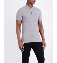 The Kooples Classic Fit Cotton Polo Shirt Gryb5