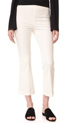 Theory Ernestina B Flare Pants New Ivory