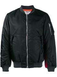 Neighborhood Luker Padded Bomber Jacket Black