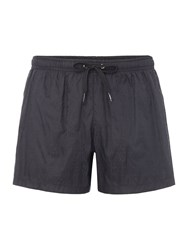 Moschino Men's All Over Logo Shorts Black